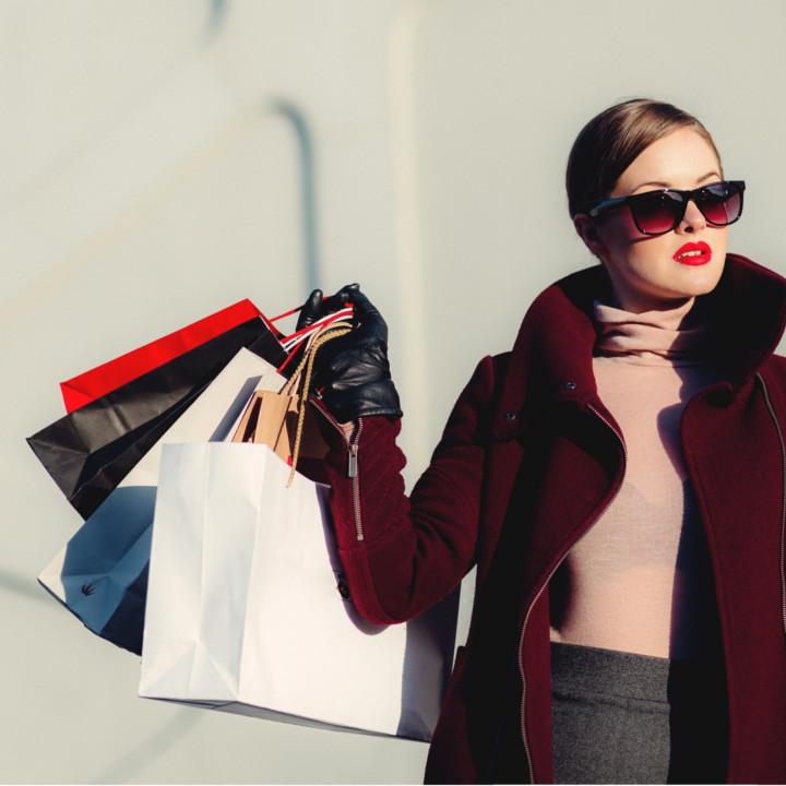 ショッピングでストレスを発散してキレイになろう